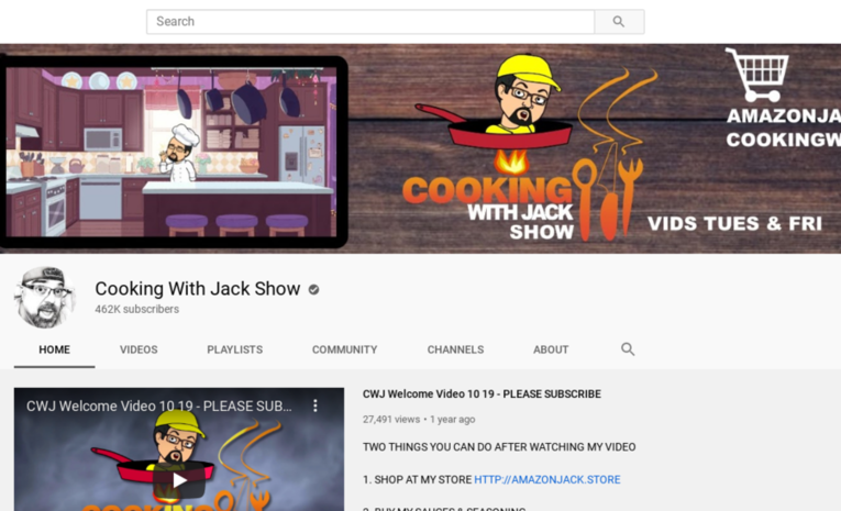 Cooking With Jack Show