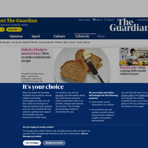 The Guardian Food