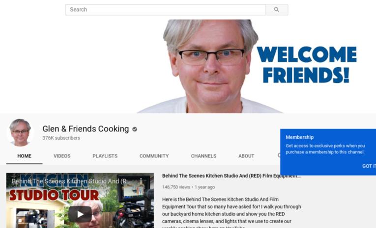 Glen & Friends Cooking