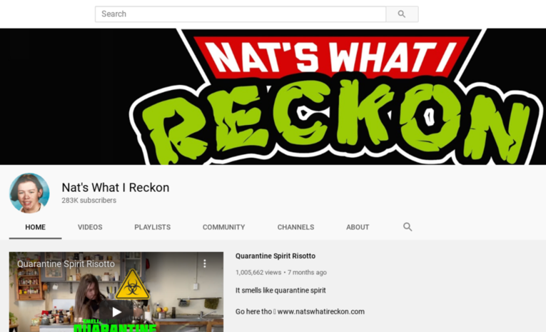 Nat's What I Reckon