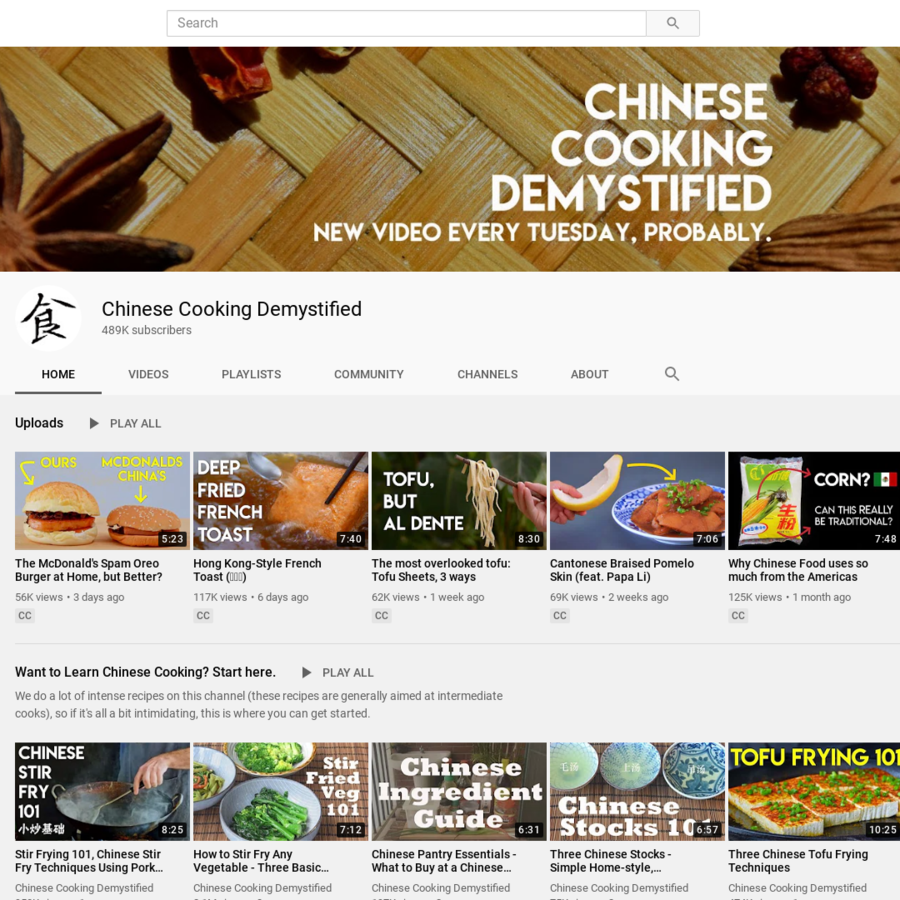 Chinese Cooking Demystified
